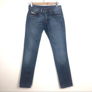 Diesel Industry Medium Wash Skinny Jeans